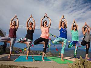 Wanderlust Mountaintop Yoga