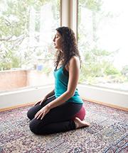 kneeling meditation