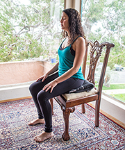 How to meditate in a chair
