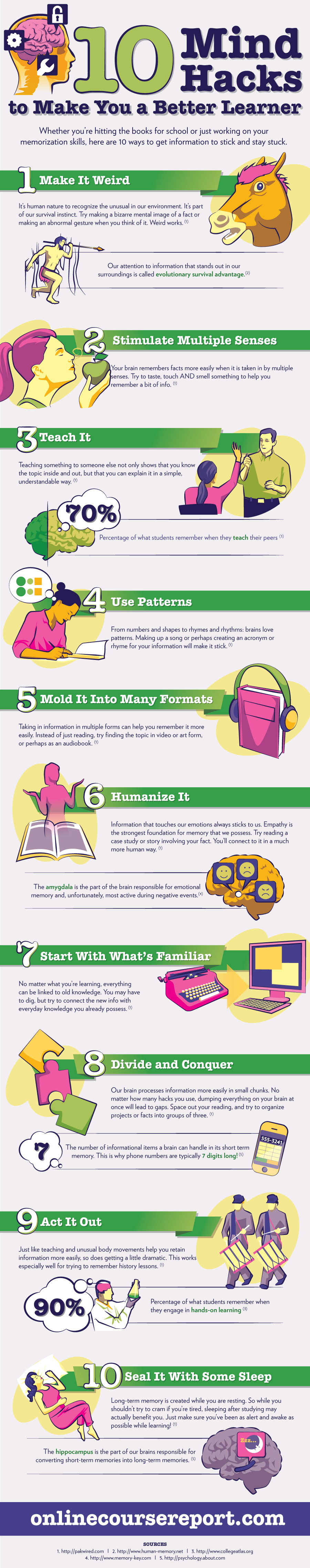 Infographic_10 Mind Hacks To Make You A Better Learner