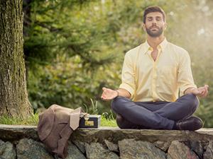 post-work meditation